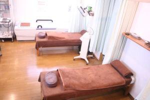 江東区西小岩のひらしま接骨院・鍼灸院店内風景